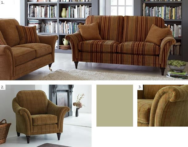 Parker Knoll Heritage Collection Hanbury Suite
